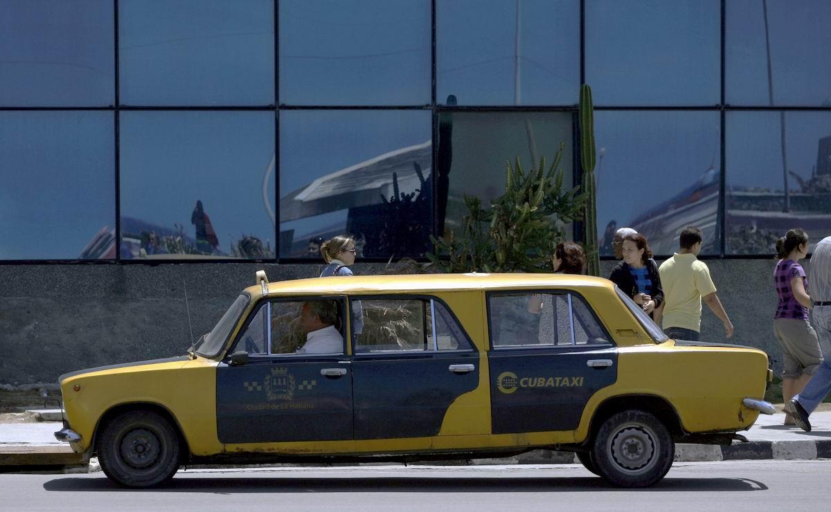 Лада - шестидверный лимузин-такси: Поделки кубинского кустарного автопрома