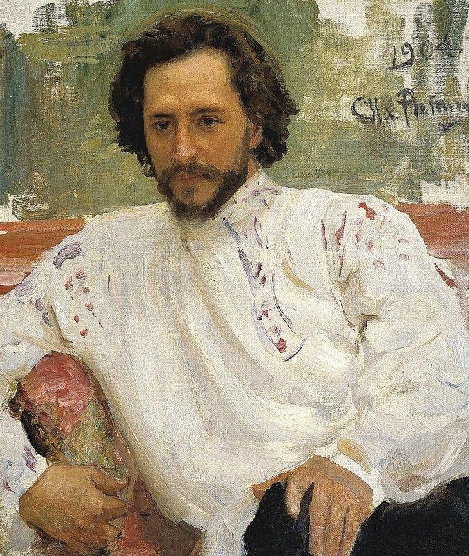 Репин Илья - Леонид Андреев. 1904.jpg
