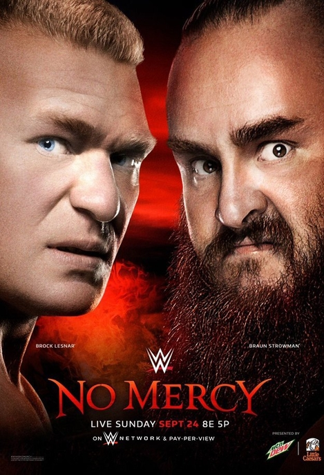 Post image of WWE No Mercy 2017