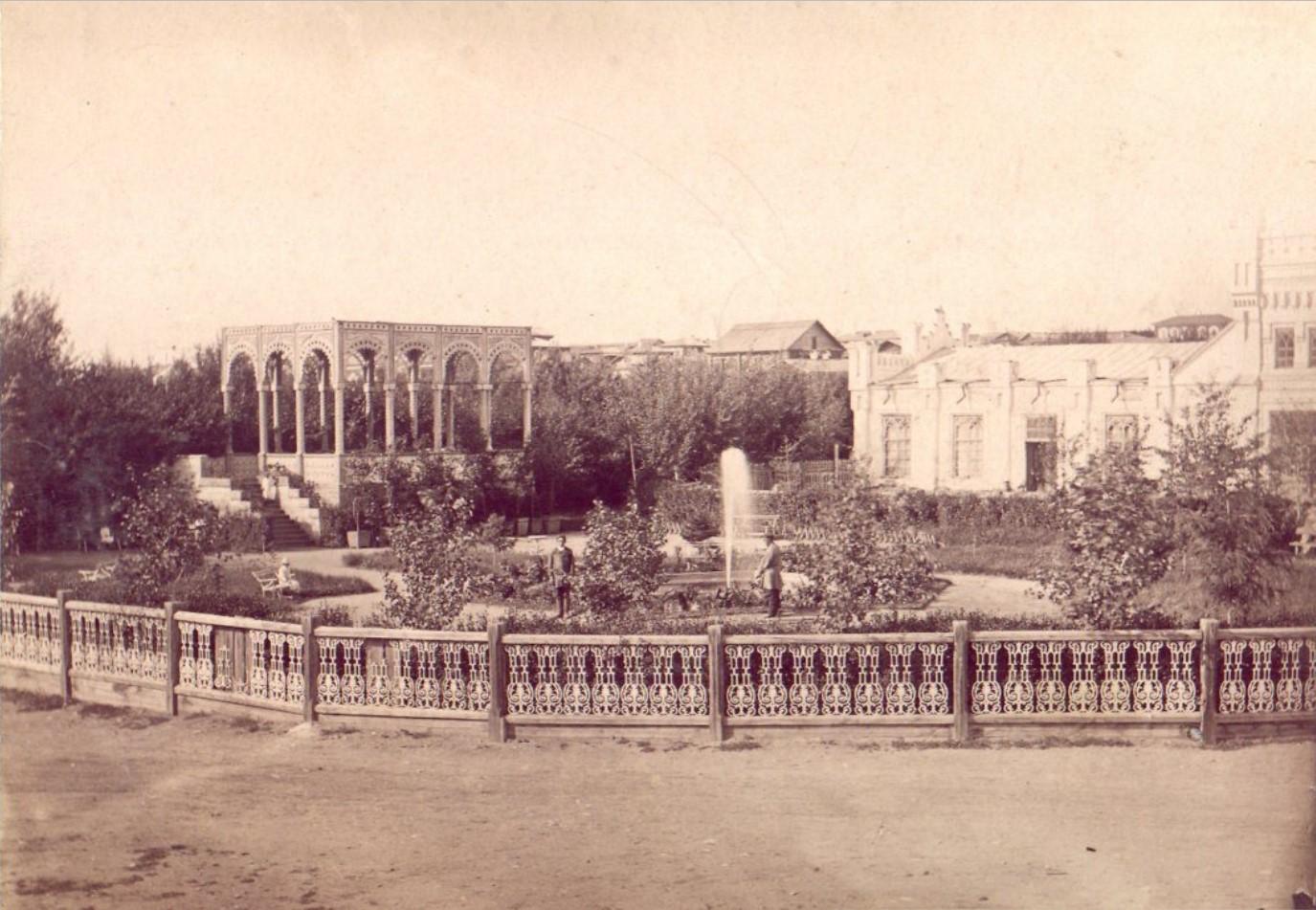 Дворец М.Д.Бутина. Сад