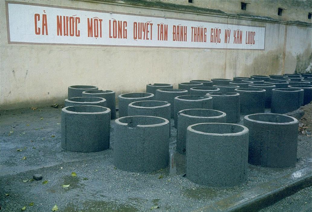 Цементные блоки для бомбоубежищ