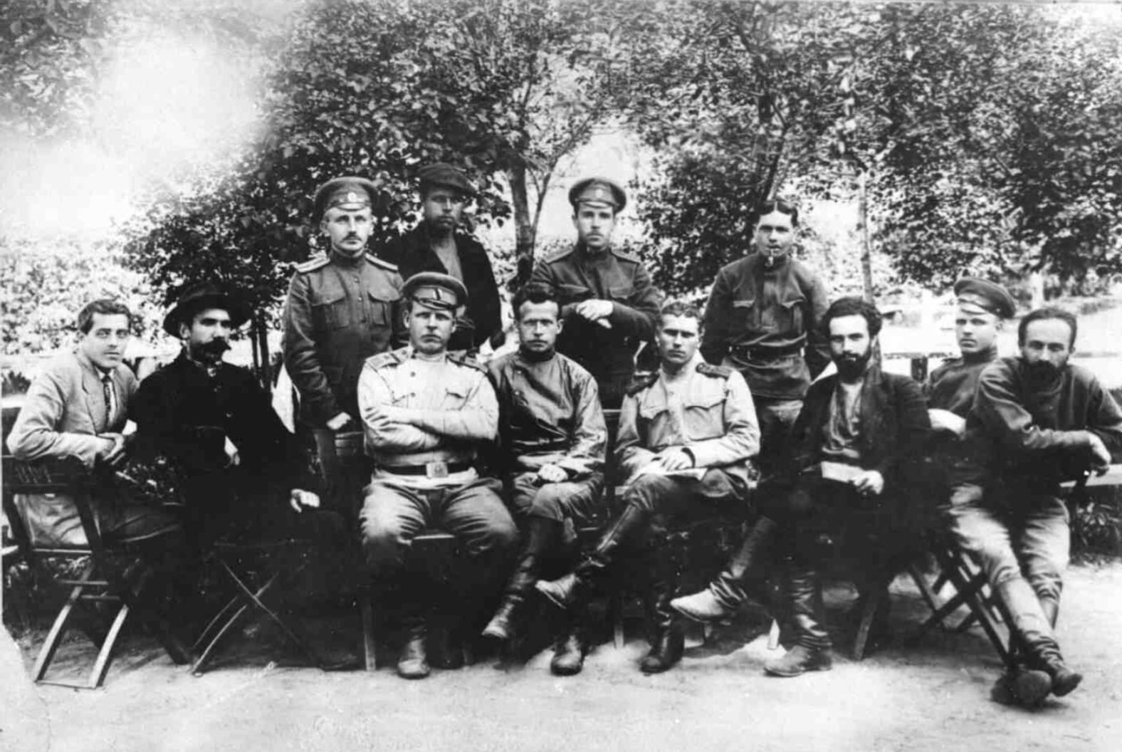 Фракция с. д. большевиков I-го Всероссийского съезда крестьянских депутатов, май 1917