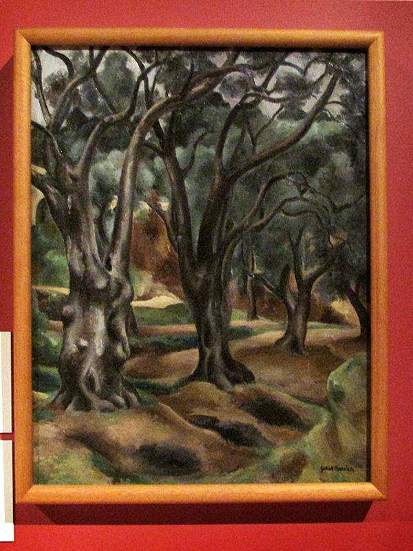 Габриэль Фурнье Деревья 1919