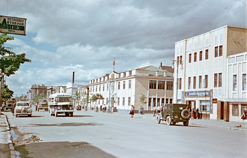 1955 Улица Ленина. Горисполком frid11349lg.jpg