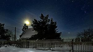 Мороз и звёзды. Ночь волшебна ;-)