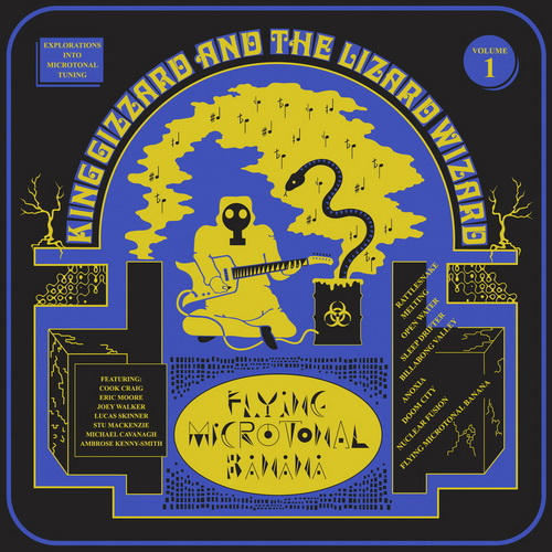 King Gizzard And The Lizard Wizard - 2017 - Flying Microtonal Banana [Heavenly, HVNLP143CD, Replica]