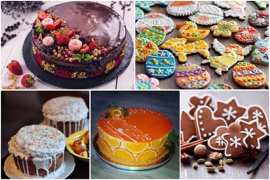 Глазурь: 5 рецептов глазури для торта, кекса, печенья, кулича