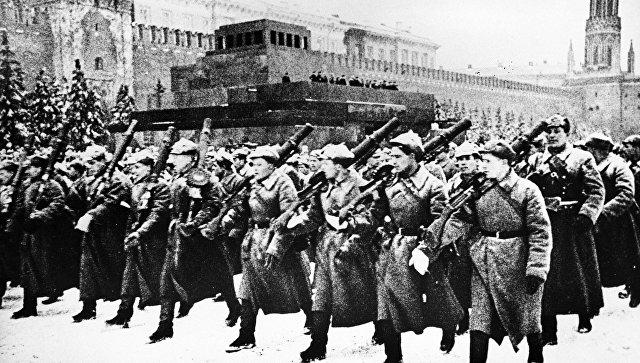 Военный парад на Красной площади 1941 года открытки фото рисунки картинки поздравления