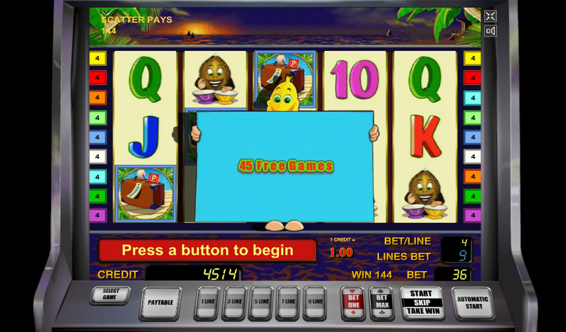 bananas go bahamas 45 free games