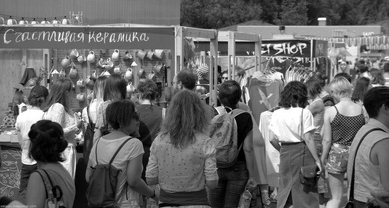Фестиваль японской культуры J-Fest Summer 2017 в Парке Горького, 16 июля 2017 года