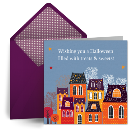 Happy Halloween Originale Saluti - Gratis, belle dal vivo auguri