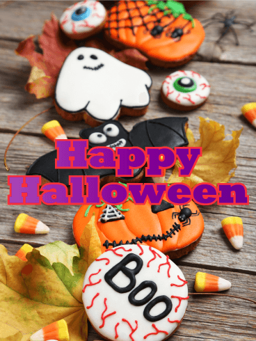 Happy Halloween Desideri Bello - Gratis, belle dal vivo auguri