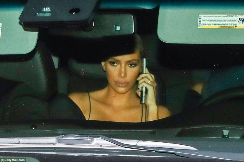 Ким Кардашьян.