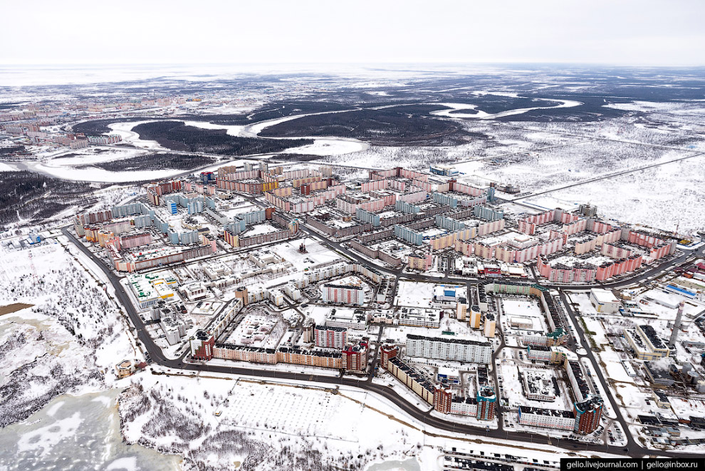 23. Микрорайон Студенческий в Северной части города.