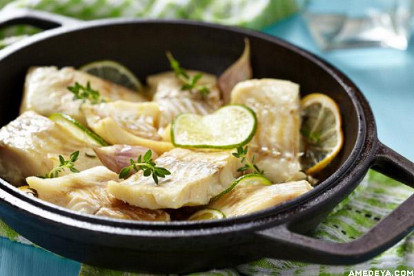 Рыба с лаймом