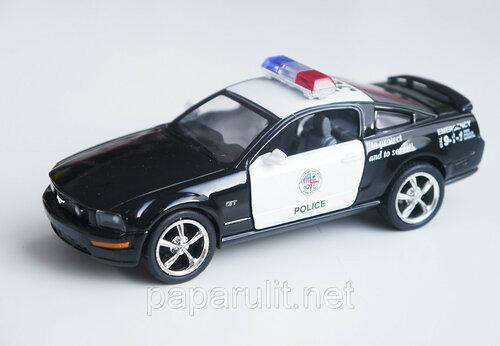Kinsmart 2006 Ford Mustang GT Police