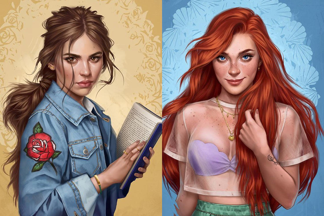 If Disney princesses were living in 2017