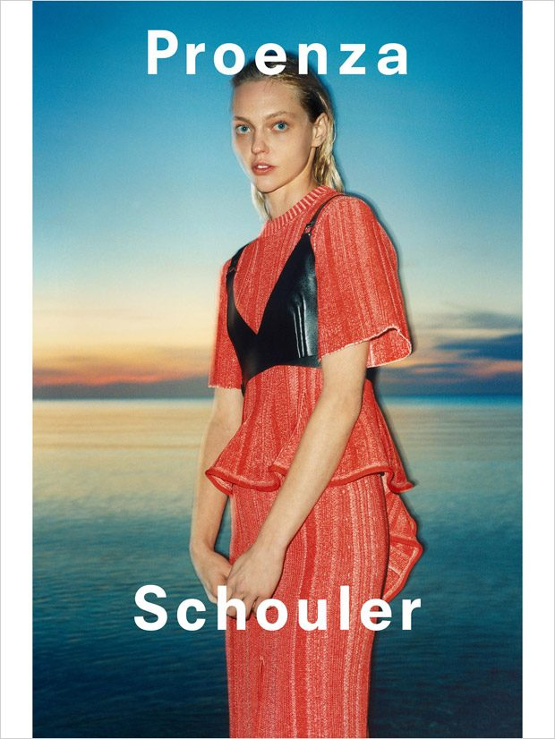 Sasha Pivovarova is the Face of Proenza Schouler SS18 Collection
