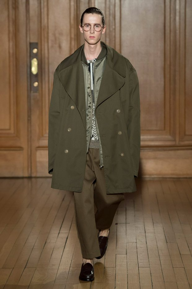 PFW: HED MAYNER Fall Winter 2018.19 Menswear Collection
