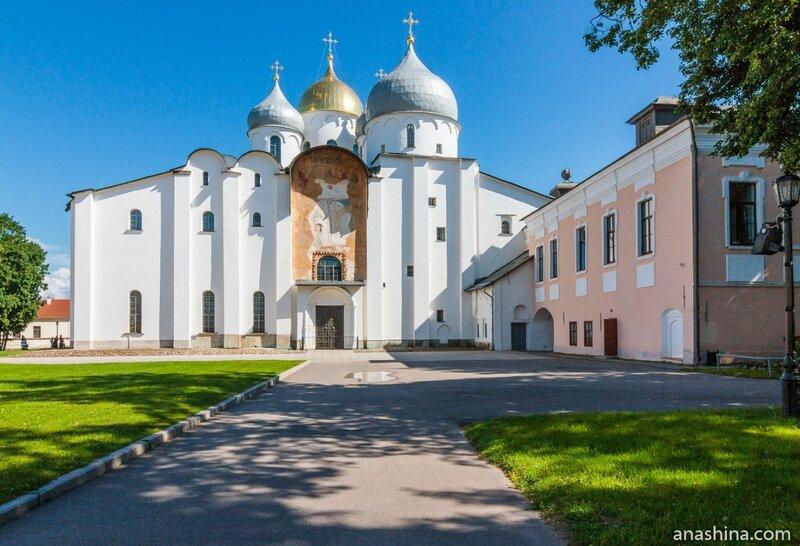 Софийский собор, Великий Новгород, Новгородский кремль