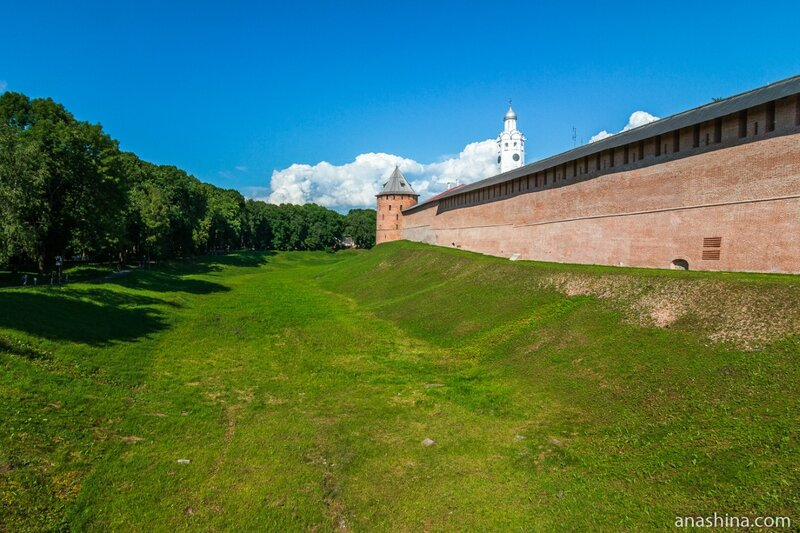 Новгородский кремль, Великий Новгород,