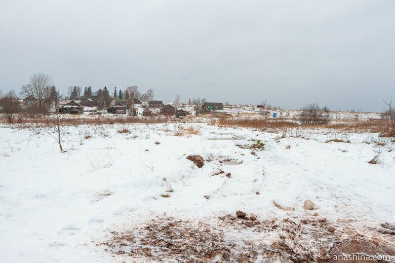 Деревня Ольково, Андома-гора, Вологодская область