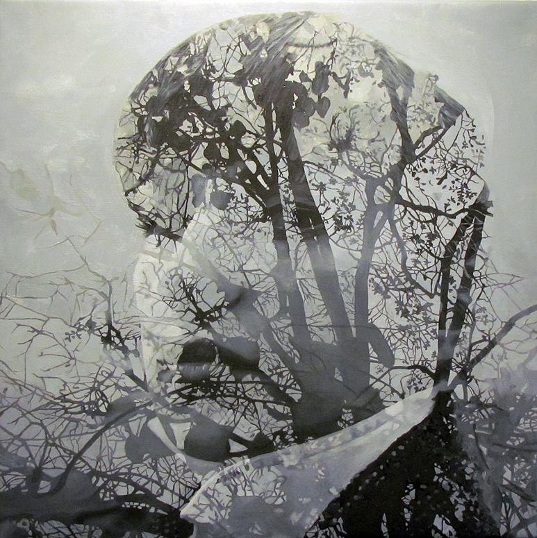 Double Exposures - Photorealistic Paintings - Pakayla Biehn
