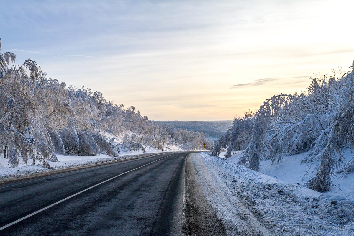дорога зима хвалынск фото 6