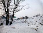Солнцевский снежный пейзаж