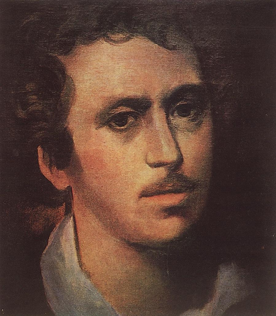 Автопортрет. 1823 (Не окончен) Частное собрание