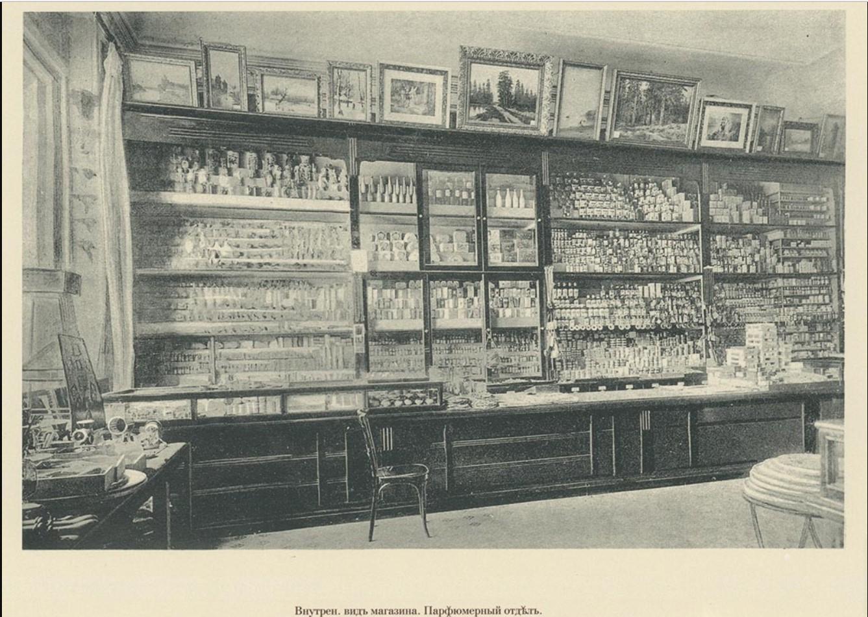 03. Внутренний вид магазина. Парфюмерный отдел