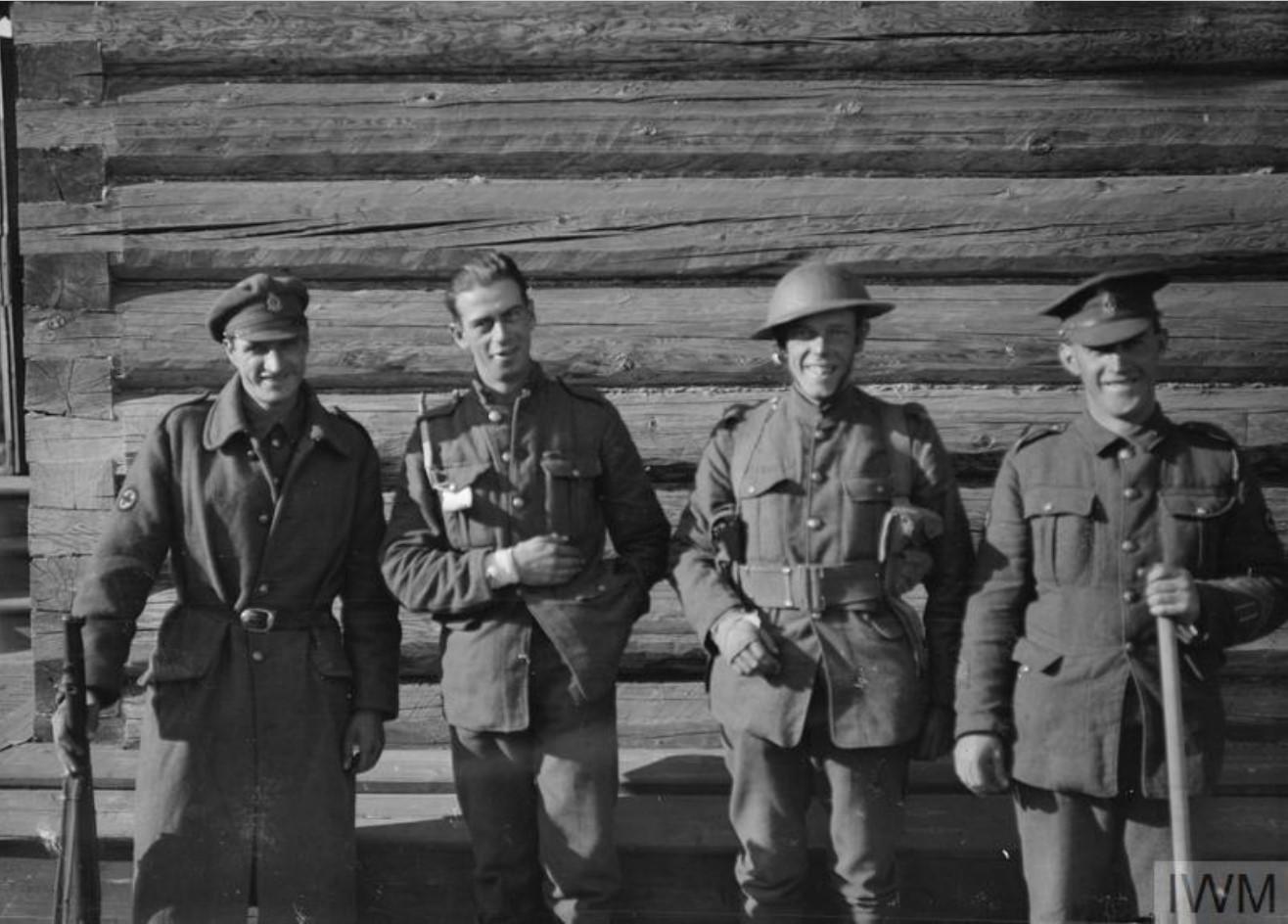 1919. Раненые британские солдаты, 17 сентября