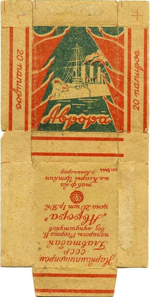Папиросы Аврора
