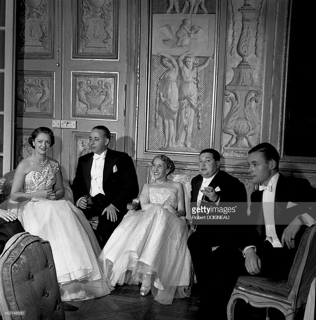 1950. Отель Ламбер. Бал 2 июня