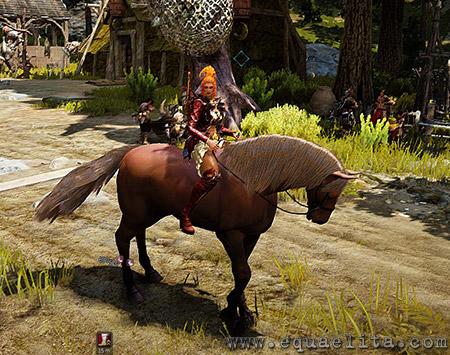 Лошади в Black Desert Online