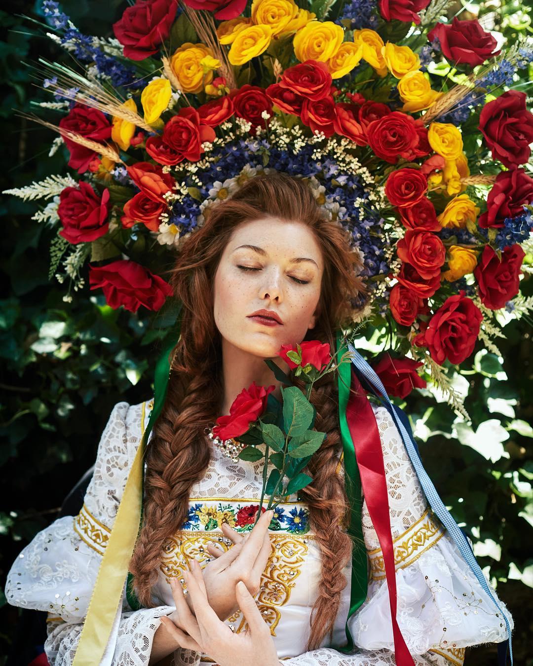 Сказочные портреты девушек Беллы Котак