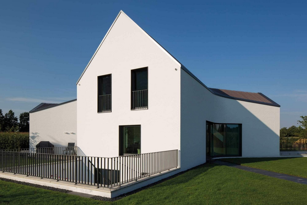 Стильный современный дом в Германии
