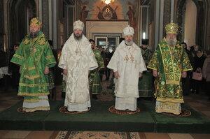 Prăznuirea sfântului cuvios Marchel în catedrala episcopală din Bălți