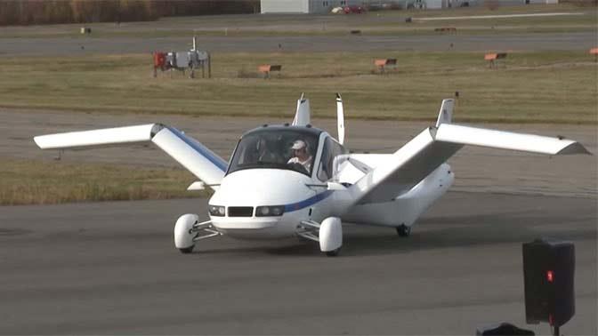 первые летающие автомобили