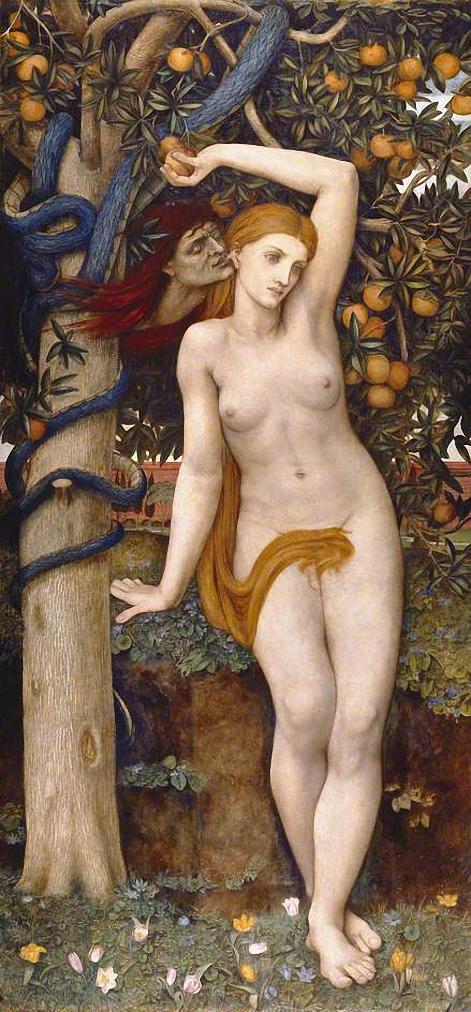 Адам и ева голые фото моему