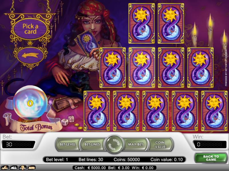 игровой слот Fortune Teller бонус