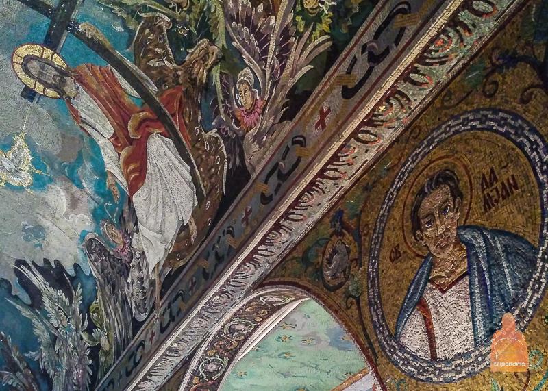 Мозаика церкви Ружица