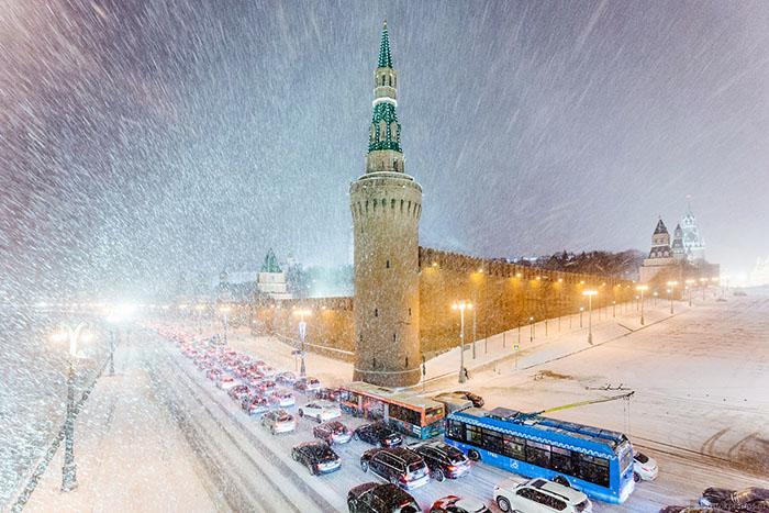 В Москве создан штаб по ликвидации последствий снегопада