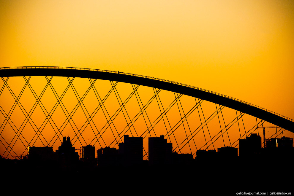 63. Бугринский мост.