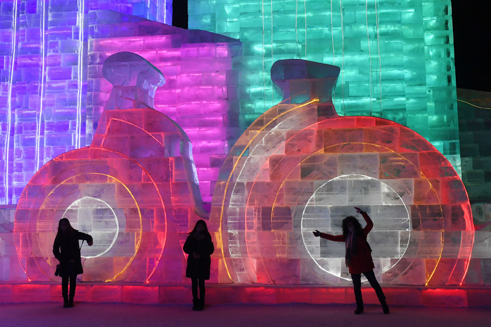 Фестиваль льда и снега в Харбине 2018