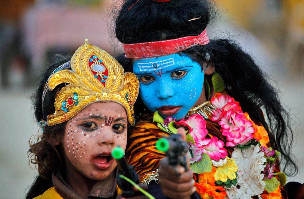 Праздник в честь Гобинда Сингха  — десятого и последнего сикхского гуру, который был
