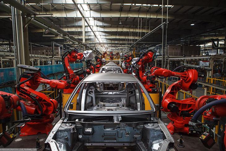 Как делают автомобили в Китае (28 фото)