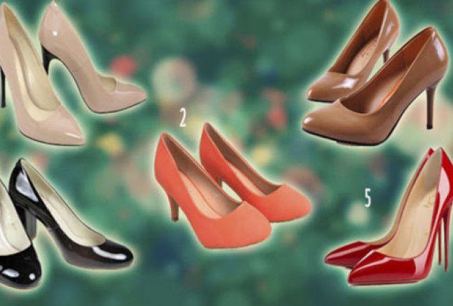 Выбранная пара туфель расскажет, какая Вы женщина на самом деле (2 фото)