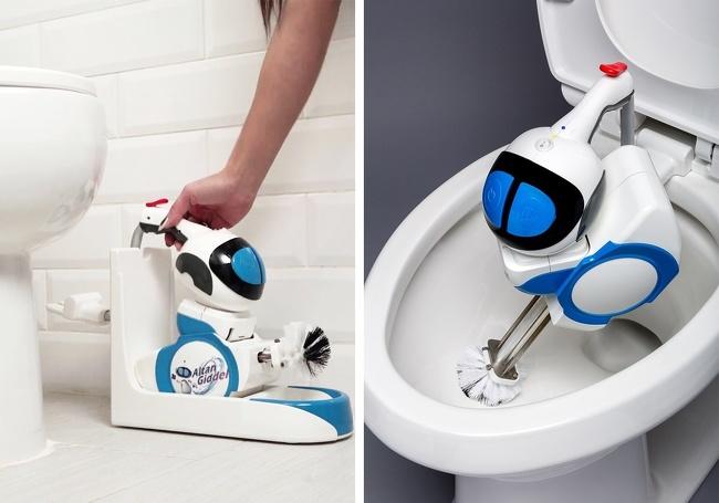 новая жизнь чистка робот роботы унитаз мысли удобство день