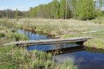[2017] река Виша, д. Осинки. Мостик
